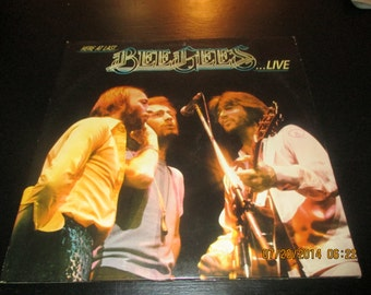Bee Gees VG++ vinyl - Here at Last the Bee Gees Live - Original Edition - Prestige vinyl record in VG++ Condition