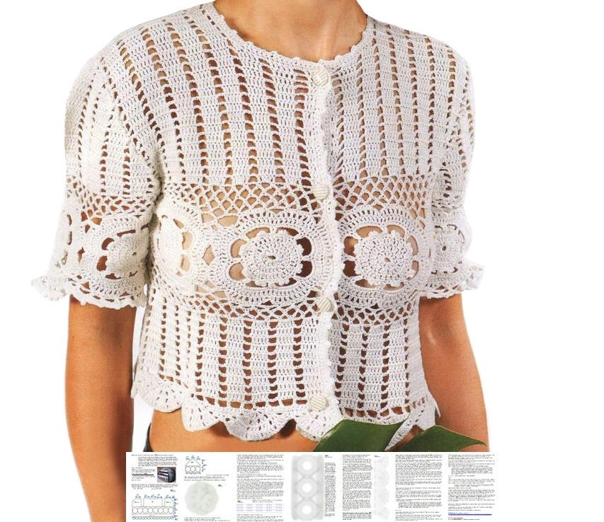 Crochet Top Pattern Detailed Tutorial In English For Every