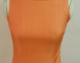 "Vintage 1960s ""Martin Shapiro"" Silk Dress"