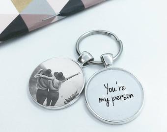 Personalized FRIENDSHIP  (PHOTO INSERT) Greys Anatomy Gift Idea ''