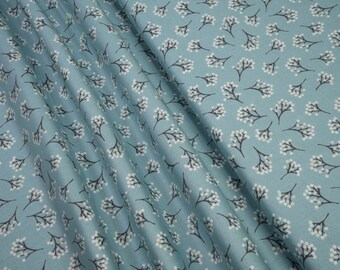 Andover Into the Woods Berry Blue TP-1853/B5 0.54yd (0.5m) 003985