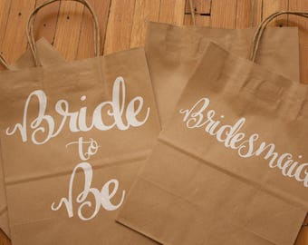 Bridal Party Gift Bags!