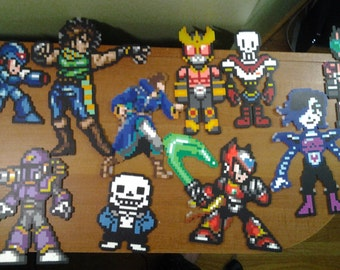 Perler bead custom commissions, message me any sprite or I will design one