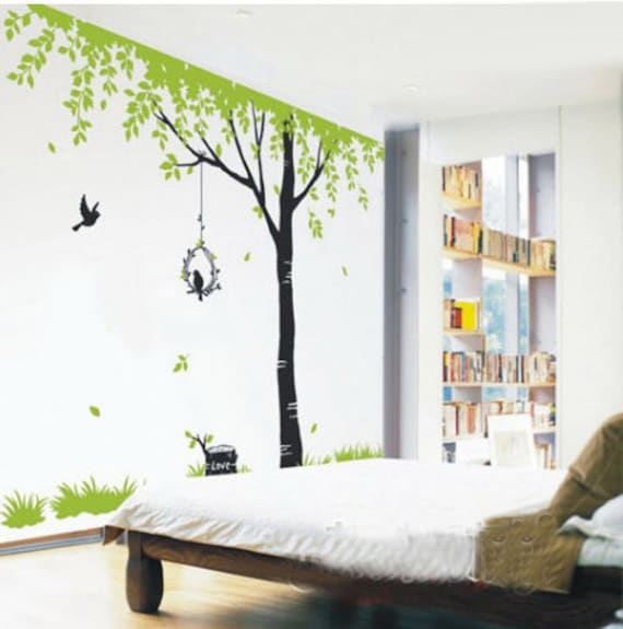 Tree Wall Decals Kids wall art Nature wall stickers wall decor
