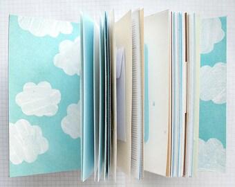 Adventure Awaits - Travel Journal - 4.5 x 6 inch A6 - Mixed Paper Journal - Bucket List Journal