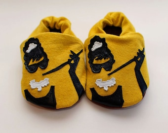 Audrey Hepburn ''Breakfast at Tiffany's'' Rock n Sole Baby slippers