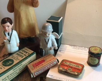 Medical- Doctor Vintage lot 5