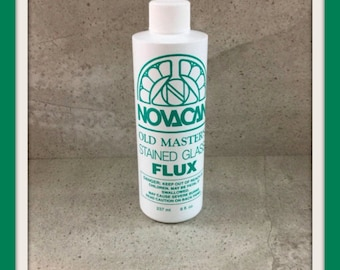 Old Masters Flux 8oz Stained Glass Flux For Copper Foil or Lead Can Ship To USA Canada or International