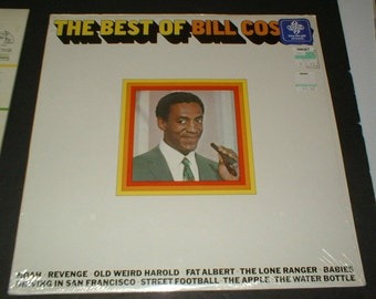 Mint Sealed Best Of BILL COSBY Record Album 1960's WS 1798 Warner Bros