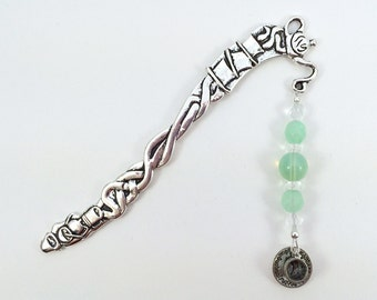 Green Tea Bookmark