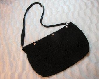 Crochet Nylon Boho Bag