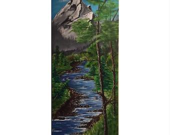 "Original Acrylic Painting - ""Tranquility"""