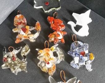Gemstone Pokemon Pendant