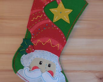 The Star Hatted Santa Stocking
