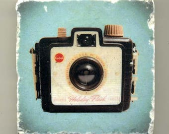 Kodak Holiday Flash Camera - Original Coaster
