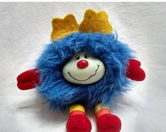 Spring SALE 30% OFF Vintage 1980s Blue Champ Sprite from the Rainbow Brite Colleçtion