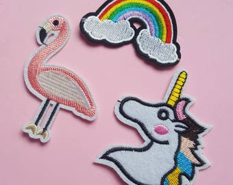 """Patches """"over the rainbow"""""""