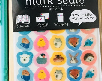 Kawaii animal sticker