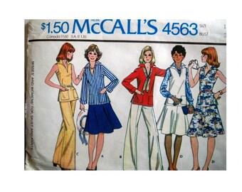 McCall's 4563 Pattern - Uncut