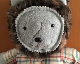 Werewolf doll. Boy doll. Happy werewolf friend. Made when ordered.