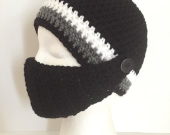 Ski Hat with removable facemask