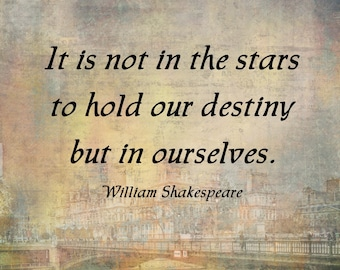 Shakespeare Quote, Downloadable
