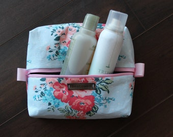 Olivia Collection - Costmetic & Toiletry Box Bag