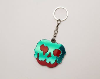 Poison Apple Keychain - Snow White