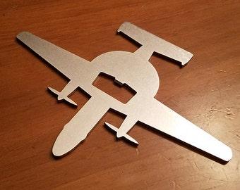 E-2 Hawkeye Steel Aircraft Bottle Opener - Aviation - Pilot Gift