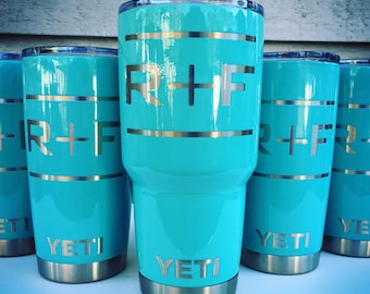Rodan and Fields Powder Coated Custom Yeti Rambler Tumbler Cup - Permanently Etched