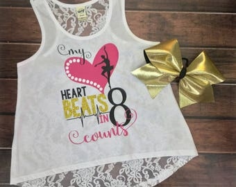 Girls Lace Back Tank Top,Lace Back Tank Top, Dance Tank Top,Dance Lace Back Tank Top,Dance Top,Tank Top,Girls Tank Top,Lace Back Dance Top