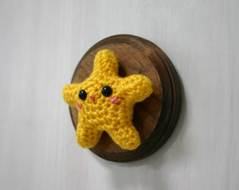 Crochet Taxidermy Cheeky Star Fish