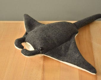 Manta Ray Stuffed Animal