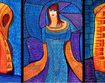 Three Women ( Gold & Silver )