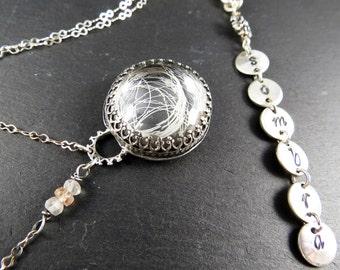 Sombra, Custom Horsehair Memorial Necklace