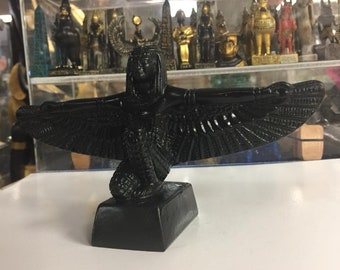 Unique   Egyptian Goddess Isis Hand Carved Made in Egypt
