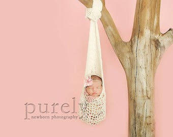 Knitting Pattern - Hanging Cocoon // Little Love