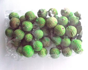 table decoration - Pocket decorative color ref 430 green berries