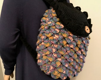 Blue Dragon Scales Backpack