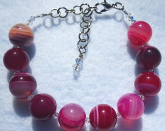 Pink Banded Agate