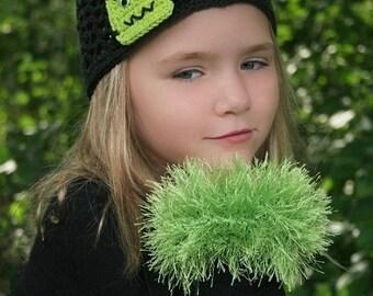 PDF Crochet Pattern Removeable Fur Cuffs