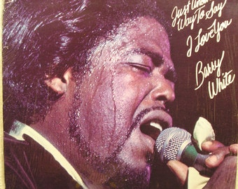 Barry White  Just Another Way To Say i Love you   Record Album  Sealed