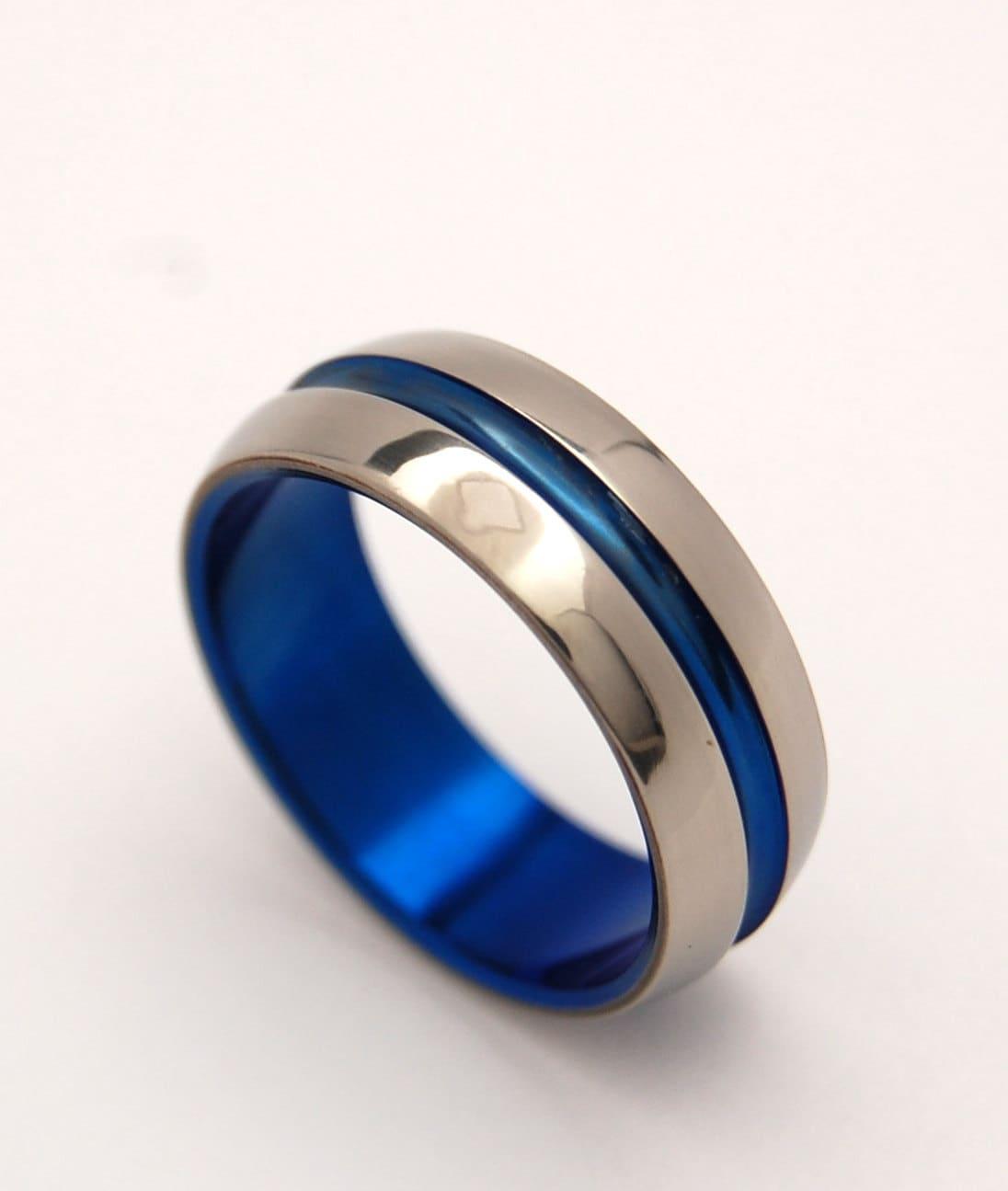 Titanium Wedding Ring Men's Ring Women's Ring