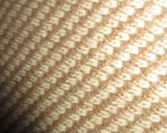 5,5m schöner diagonal gestreifter Wollstoff mit Alpaka - Mantelstoff, Jackenstoff, Wollgewebe, Wolle, Alpaka, Alpakastoff