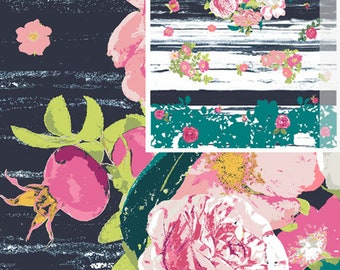 Fabric by the Yard -- Lavish-- Flowerful Dandle by Katerina Roccella for Art Gallery Fabrics