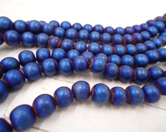 Electroplated Hematite - Hematite Round Bead - Hematite Round Strand - Metallic Hematite Bead - Metallic Hematite Strand Iris Hematite Bead