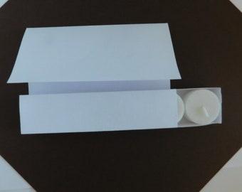Handmade Slider Box Greeting card / Tea Light Box Card, DIY Gift Idea, Create a Teacher Gift, Just For You Card, Tea Light Gift, DIY Project