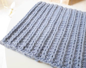 Braided Snood blue child