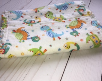 Baby burp cloth, flannel burp cloth, hourglass burp cloth, burp cloth, baby gift, baby shower gift, newborn gift, gift for new mom