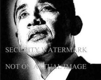 Rare Pres. Barack Obama Art Lithograph only 50 exist